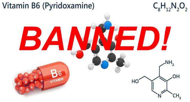 fda compliance - pyridoxamine banned